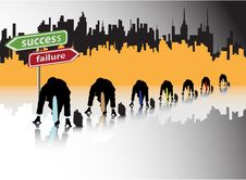 Free Success Race Stock Image - 10141191