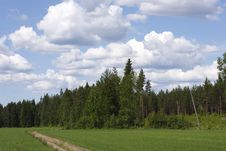 Free Finnish Countryside Royalty Free Stock Image - 10141586