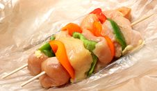Free Chicken Shish Kabob Stock Photos - 10141633