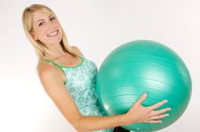 Free Fitness Ball Stock Photography - 10143102