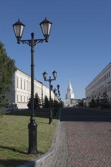 Free Kremlin In Kazan City Royalty Free Stock Photo - 10143565