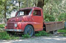 Free Old Timer Truck Royalty Free Stock Images - 10143599