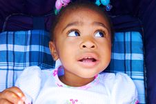 Free Adorable African American Girl Royalty Free Stock Image - 10143976