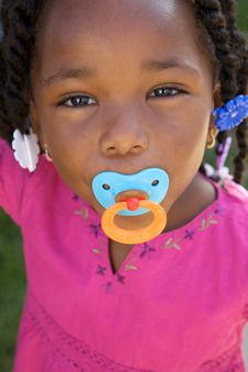 Free Adorable African American Girl Stock Image - 10144071
