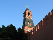 Free Tower Moscow Kremlin Stock Photos - 10146043
