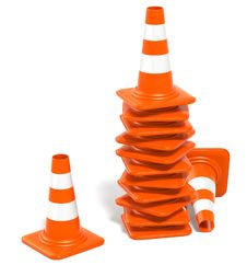 Free Traffic Cones Stock Photo - 10146760