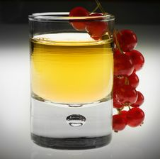 Free Shot Glas With Red Fruit Royalty Free Stock Photos - 10147078