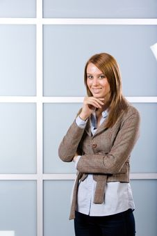 Free Business Woman Portrait Stock Photography - 10148662