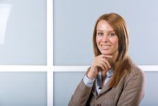 Free Business Woman Portrait Stock Photography - 10148732