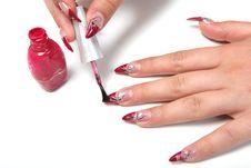 Free Manicure Stock Photo - 10149010