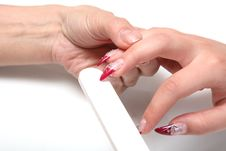 Free Manicure Royalty Free Stock Images - 10149089