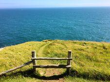 Free Sea, Coast, Grass, Horizon Stock Images - 101448844