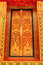 Free Traditional Thai Style Church Window Stock Images - 10157504