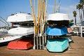 Free Row Boats Royalty Free Stock Photo - 10159065