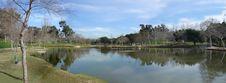 Free Panorama Of Lake At The Park Royalty Free Stock Photos - 10150828
