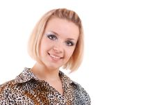 Free Blond Girl With Perfect Smile Royalty Free Stock Images - 10152989