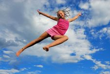 Free Girl Up Stock Photography - 10153262