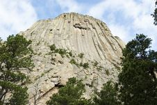 Free Devils Tower Stock Photography - 10153292