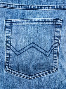 Free Blue Pocket Stock Photo - 10155020