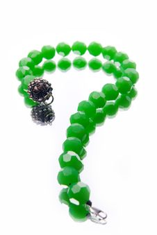 Free Green Necklace Royalty Free Stock Photos - 10156118