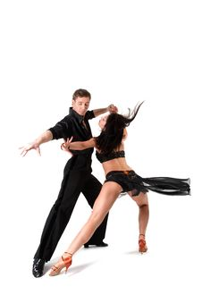 Free Dancers In Action Stock Photos - 10157323