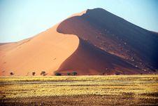 Sossusvlei Dunes Royalty Free Stock Image