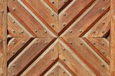 Free Wooden Gate Texture Stock Photography - 10157922