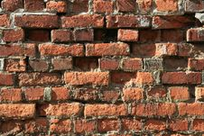 Free Brick Wall Royalty Free Stock Image - 10157936