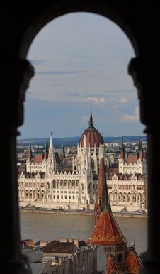 Free The Hungarian Parliament Building Stock Photography - 10157972