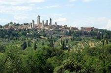Free San Gimignano - Tuscany, Italy Royalty Free Stock Photo - 10158225