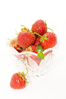Free Vase With Berries Royalty Free Stock Photo - 10158825