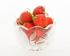 Free Vase With Berries Stock Photo - 10158840