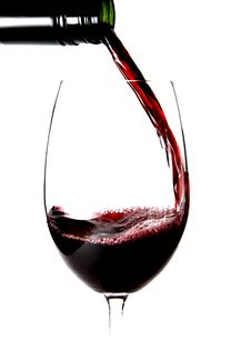 Free Close Up Of Pouring A Glass Of Wine Stock Photo - 10159150