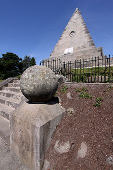 Free Star Pyramid Or Salem Rock, Stirling Stock Photo - 10159210