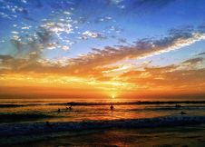 Free Afterglow, Beach, Clouds, Dawn Stock Photos - 101538533