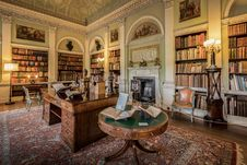 Free Harewood House The Old Library Royalty Free Stock Photo - 101539565