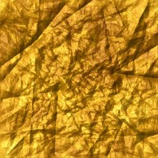 Free Gold Wrinkled Stock Photography - 101541702