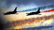 Free Air Show Formation Stock Image - 101542041