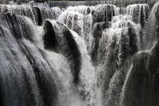Free Water, Waterfall, Nature, Black And White Stock Photo - 101552970
