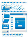Free Web Graphic Interface Blue Channel Stock Photography - 10160222