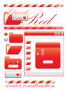 Free Web Graphic Interface Red Channel Stock Image - 10160251