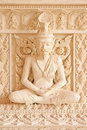 Free Ascetic Statue In Thai Style Molding Art Stock Photography - 10162352