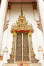 Free Traditional Thai Style Church Window Stock Photo - 10166840