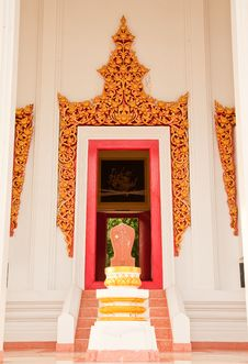 Free Traditional Thai Style Architecture Stock Images - 10161104