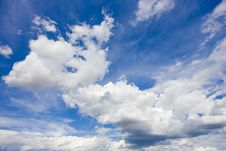 Free Clouds Royalty Free Stock Photos - 10162188