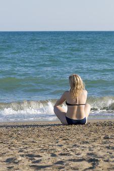 Free On The Beach Royalty Free Stock Photos - 10162778
