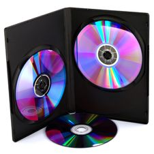 Compact Disk S In Case Stock Photos