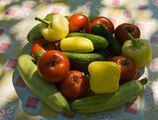 Free Fresh Vegetables Stock Image - 10162971