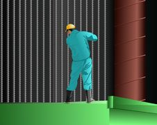Free Builder Royalty Free Stock Image - 10163256
