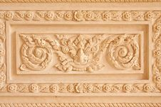 Free Traditional Thai Style Molding Art Stock Images - 10163434